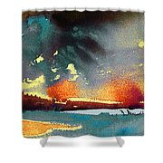 Sunset 08 Shower Curtain