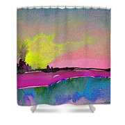 Sunset 09 Shower Curtain
