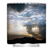 Sunset 1 Shower Curtain