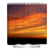 Sunset 10 Shower Curtain