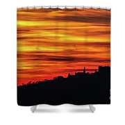 Sunset 11 Shower Curtain