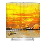Sunset 24 Shower Curtain