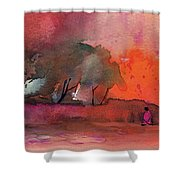 Sunset 28 Shower Curtain