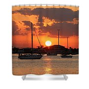 Sunset 3 Shower Curtain
