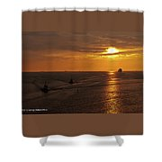 Sunset - 34 Shower Curtain