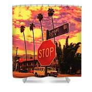 Sunset 7700w Shower Curtain