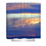 Sunset 8-19-15 Shower Curtain