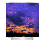 Sunset After Storm Shower Curtain