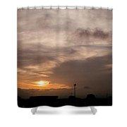 Sunset Ahuachapan 11 Shower Curtain
