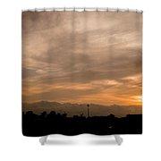 Sunset Ahuachapan 12 Shower Curtain
