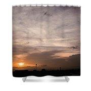 Sunset Ahuachapan 14 Shower Curtain