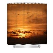 Sunset Ahuachapan 24 Shower Curtain