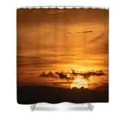 Sunset Ahuachapan 27 Shower Curtain