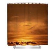 Sunset Ahuachapan 29 Shower Curtain