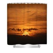 Sunset Ahuachapan 31 Shower Curtain