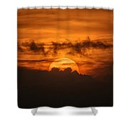Sunset Ahuachapan 33 Shower Curtain