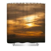 Sunset Ahuachapan 4 Shower Curtain