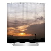 Sunset Ahuachapan 5 Shower Curtain