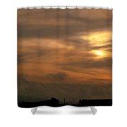 Sunset Ahuachapan 6 Shower Curtain
