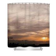 Sunset Ahuachapan 7 Shower Curtain