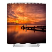 Sunset Albufera 2 Shower Curtain