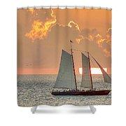 Sunset America 2.0 Shower Curtain