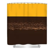 Sunset And Lake Michigan Shower Curtain