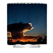 Sunset Anvil Shower Curtain