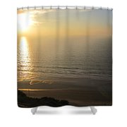 Sunset At Blacks Beach Shower Curtain