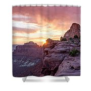 Sunset At Canyonlands Shower Curtain