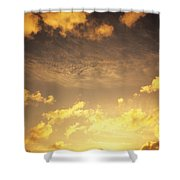 Sunset At Chinamans Hat Shower Curtain