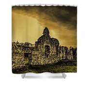 Sunset At Grace Dieu Shower Curtain