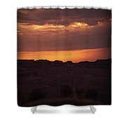 Sunset At Grand Canyon Shower Curtain