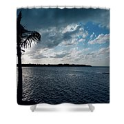 Sunset At Grassy Key Shower Curtain
