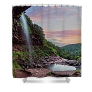 Sunset At Kaaterskill Shower Curtain