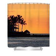 Sunset At Key West Shower Curtain