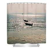 Sunset At Krabi Shower Curtain