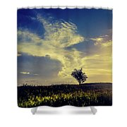 Sunset At Kuru Kuru Shower Curtain