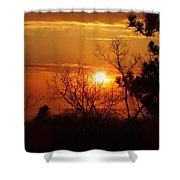 Sunset At Lake Michigan Shower Curtain