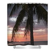 Sunset At Montego Bay Shower Curtain