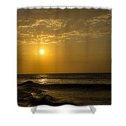 Sunset At Pacasmayo Beach 2 Shower Curtain