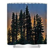Sunset At Paradise Shower Curtain