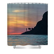 Sunset At Point Loma Shower Curtain