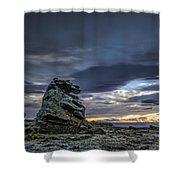 Sunset At Poolburn Reservoir 1 Shower Curtain
