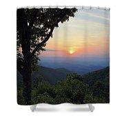 Sunset At Purgatory Mountain Shower Curtain