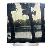 Sunset At Rochester Shower Curtain
