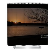 Sunset At Shell Point Shower Curtain