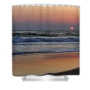 Sunset At St. Andrews Shower Curtain