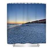 Sunset At The Beach In Florida Shower Curtain