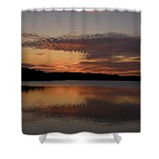 Sunset At The Gulf Of Bothnia 4 Shower Curtain